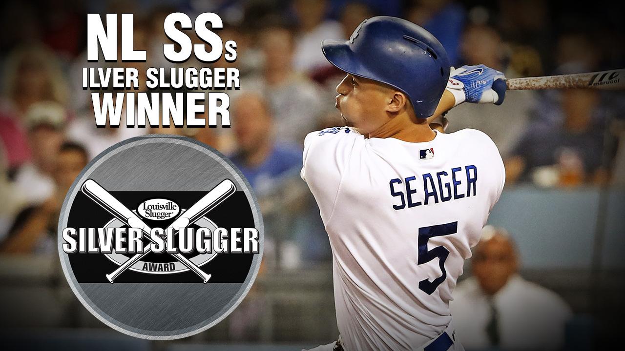 Seager premiado con su segundo Bate de Plata en la Liga Nacional